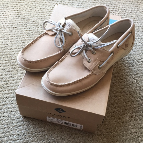 Sperry Shoes - [LIKE NEW] Sperry: Koifish Sparkle Linen